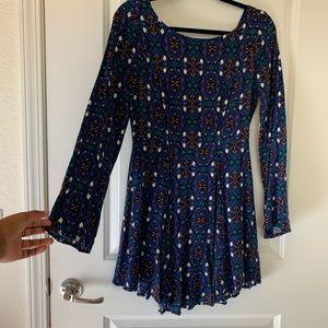 Francesca's Collections Dresses - Francesca's Patterned Boho Dress